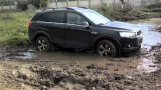 Испытание Chevrolet Captiva 2012
