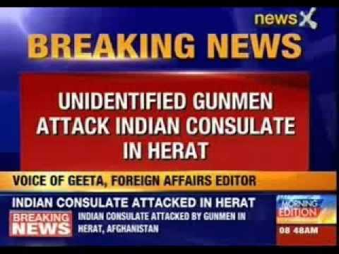Indian consulate attacked in Afghanistan