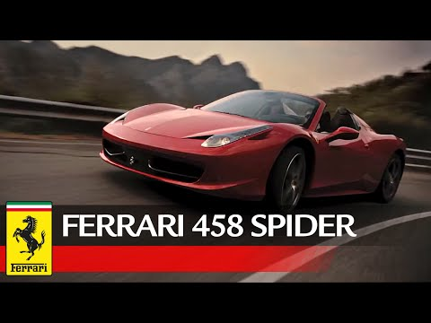 458 Spider - Official video, Exclusively on Ferrari.com: the video of the 458 Spider's presentation shot at the Amalfi Coast, at Reggia di Caserta and other breathtaking locations in the...