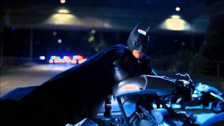 The Dark Knight Rises Batman's First Appearance[HD