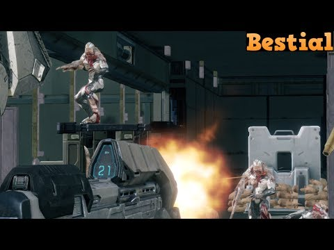 Halo 4 Custom game : Bestial (Flood Holdout)