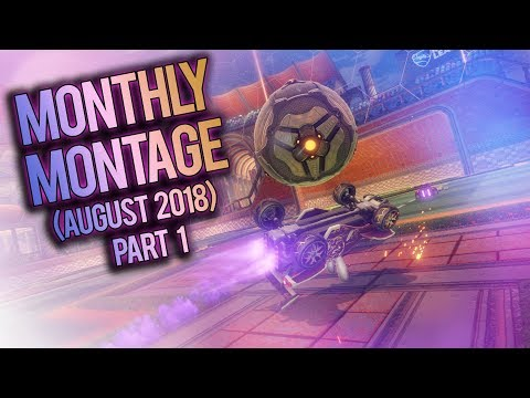 NUTTY TURTLE FLICK!! | Rocket League Monthly Montage #4 (Best Goals of August 2018 - Part 1)