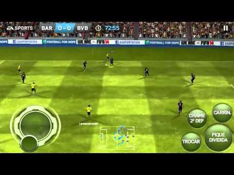 Fifa 2014 no android, muito bom