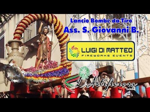 LUCCA SICULA (Ag) - PASQUA 2017 - BOMBE da TIRO - BENEDETTO CALAMITA (Diurno)