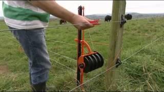 Gallagher Smart Fence Break Feeding Fence Installation