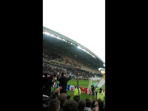 Nantes 1-0 Lorient 2014 Fin de match Tribune Loire