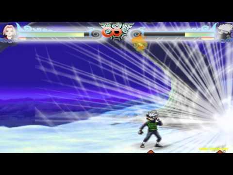 Game Naruto quyết đấu tập 3 - Sakura đánh nhau với Kakashi