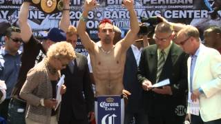 [Weigh-In Recap- Malignaggi vs. Broner & Banks vs. Mitchell -...]