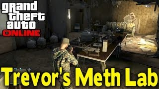 "GTA Online How To Get Into ""TREVOR'S METH LAB"" (Secret"