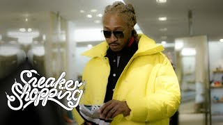Future Goes Sneaker Shopping With Complex
