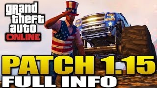 GTA 5 Patch 1.15 Independence Day Update Full Info