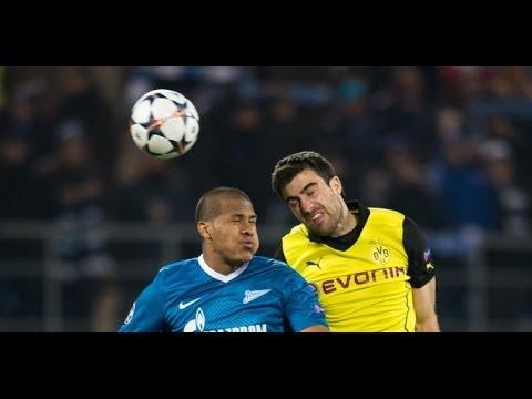 Borussia Dortmund : Zenit St. Petersburg - 19.März - UEFA CHAMPIONS LEAGUE [Prognose]