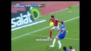 اهداف مباراة الاهلى وسموحه 30-4-2013