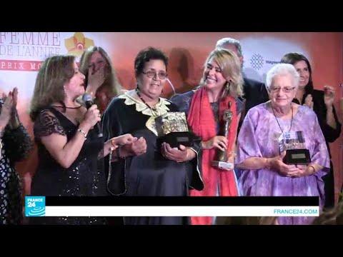 عائشة الشنا تتوج بجائزة امرأة العام