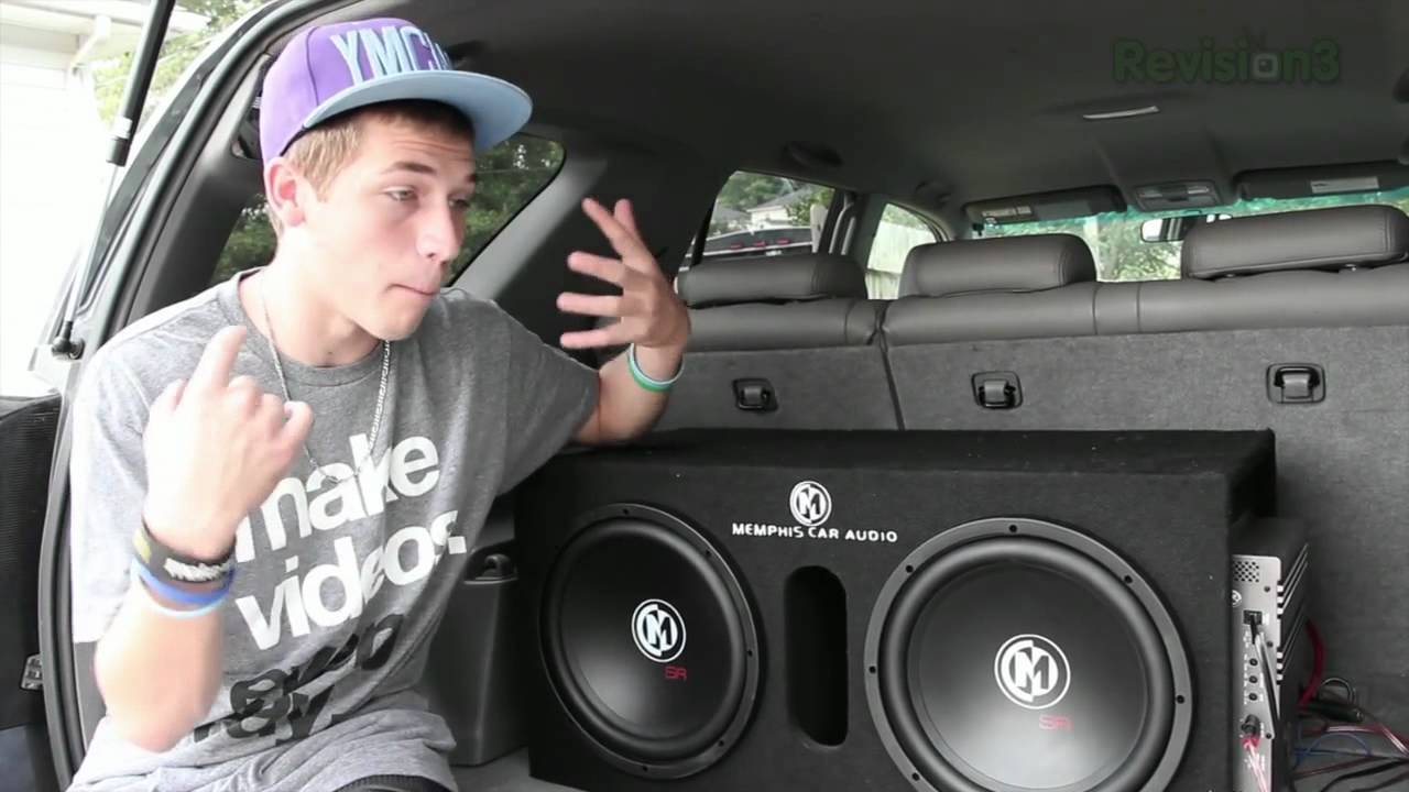Memphis 12 Quot Subwoofers And Sony Bluetooth Stereo Youtube