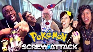 "ScrewAttack Sings ""Pokemon Theme Cover"" SGC 2014 Ft"