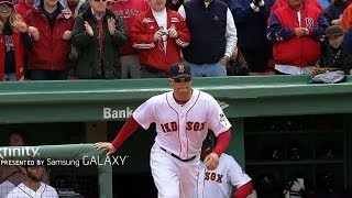 MIL@BOS: Red Sox introduced on Opening Day