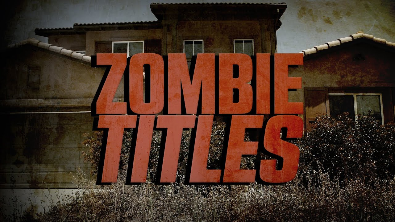 Zombie Titles More Horrifying Than Home Foreclosure