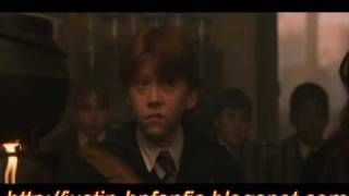 HARRY POTTER AND THE PHILOSOPHERS STONE CUT SCENE 2 SNAPE