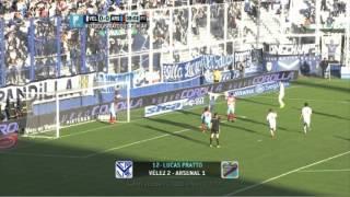 Todos los goles. Fecha 2. Torneo Primera División 2014.
