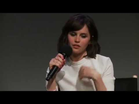 Felicity Jones: Breathe In Interview