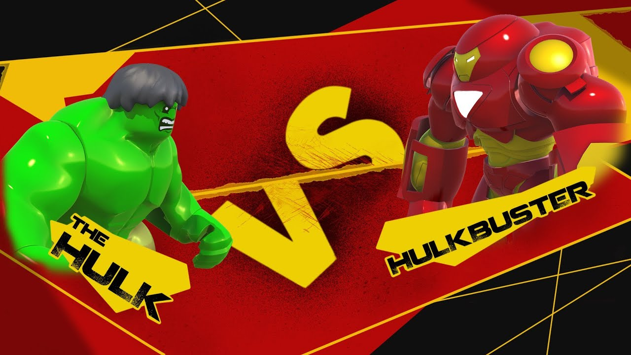 lego hulkbuster vs hulk - photo #28