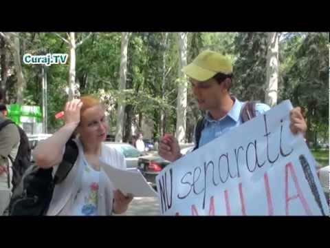 Hyde Park a protestat alături de Olga Galițin