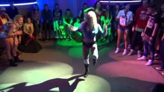 DHQ contest in da Krasnoyarsk Final - DHQ Fraules performing