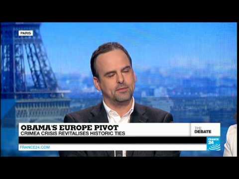 Obama's Europe Pivot: Crimea Crisis Revitalises Historic Ties (Part 1) - #F24Debate