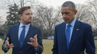 Leonardo DiCaprio and Barack Obama Discuss Impacts of Climate Change on the President's Daughters