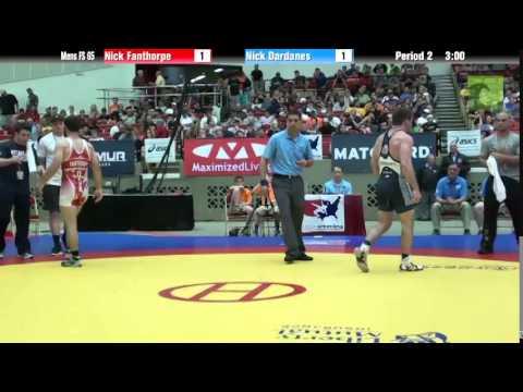 65 KG - Nick Fanthorpe vs. Nick Dardanes
