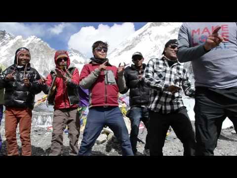 Everest Base Camp: Flash Mob at 18,000 Feet!