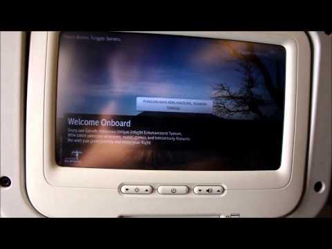 Garuda Indonesia economy class flight review GA831 Singapore to Jakarta-Soekarno-Hatta