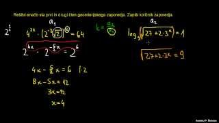 Geometrijsko zaporedje 6