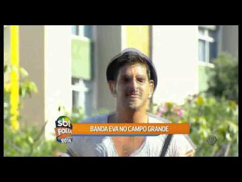 Banda Eva se apresenta em Salvador e conversa com o SBT Folia