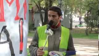 Reclamă probleme de biciclist pe străzile Chișinăului