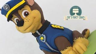 Paw patrol cake chase 3D birthday cake