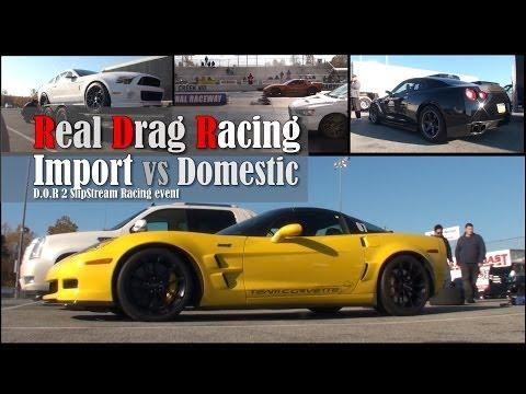 Real Drag Racing GTR,Corvette,SRT8,Porsche,EVO X,Audi, Camaro,BMW