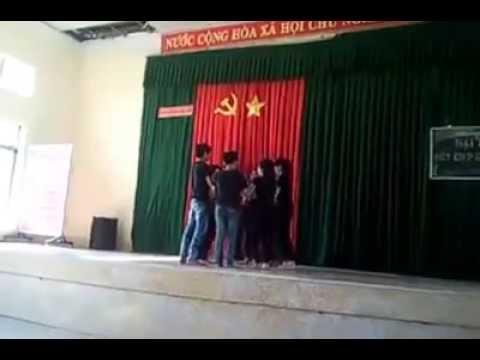 nhảy kết hợp bài Bay trường THCS Dương Văn Thì