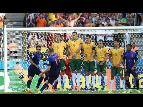 Australia 2 - 3 Netherlands -:World Cup 2014