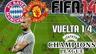 FIFA 14  UEFA Champions League  Bayern De Munich Vs