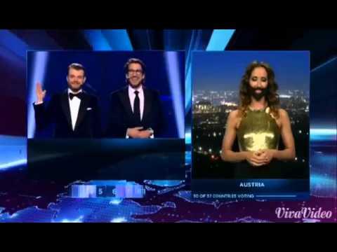 Eurovision 2014 - All points for Austria