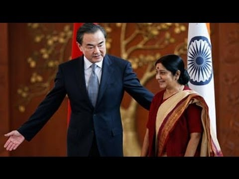 Chinese Foreign Minister Meets Sushma Swaraj
