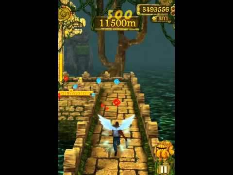 **NEW** Best Temple Run Highscore Ever, Best Highscore ever Check out my new video commentary on black ops 2, zombies, mw3/mw2, and partnership http://www.youtube.com/watch?v=Dh4K1Q7poIU