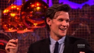 MATT SMITH: Christmas Kiss W The Doctor (The Graham Norton