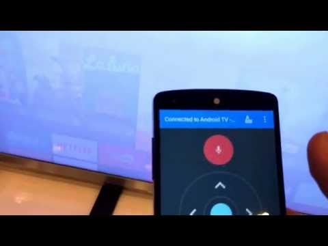 A quick look at Android TV, hands-on at Google I/O 2014 (video)