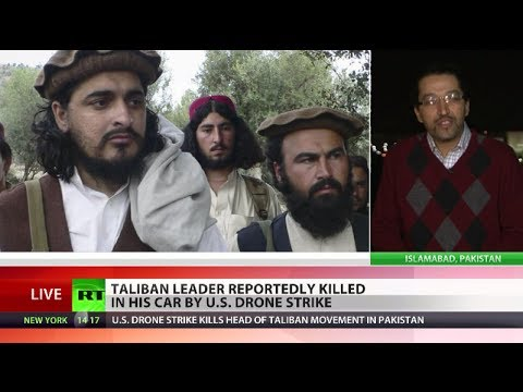 Head of Pakistani Taliban killed by US drone strike