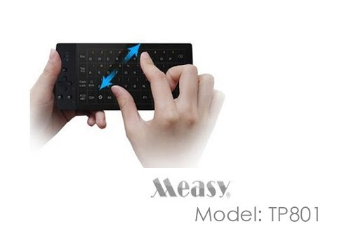 Measy TP801 touchpad + mini keyboard