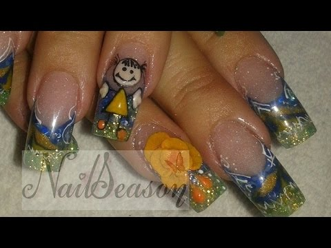 Tutorial paso a paso decoracion de uñas fulanitos
