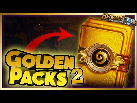 Hearthstone - GOLDEN PACKS WITCHWOOD WTF Moments - Daily Funny Rng Moments